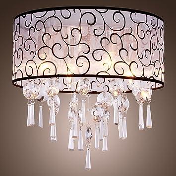 Lightinthebox elegant crystal chandelier with 4 lights modern lightinthebox elegant crystal chandelier with 4 lights modern home ceiling light fixture flush mount aloadofball Image collections