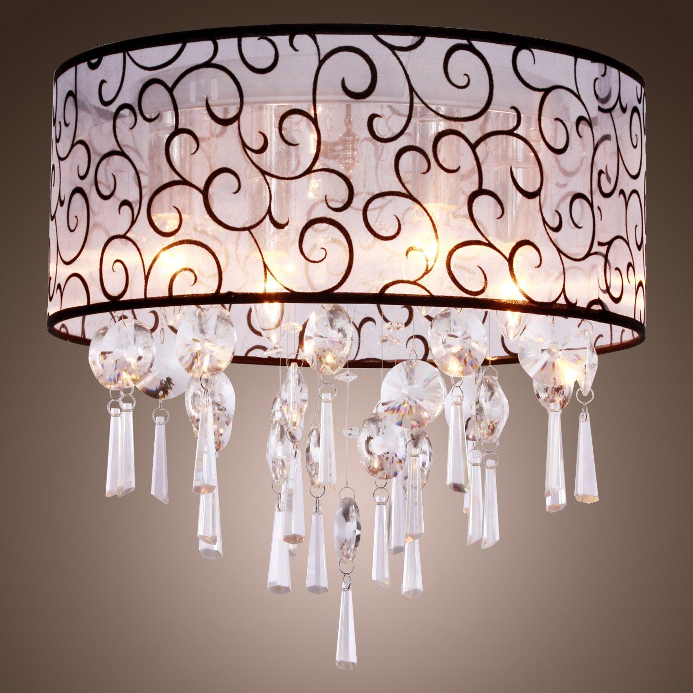 LightInTheBox Elegant Crystal Chandelier with 4 Lights