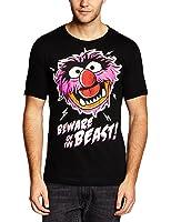Logoshirt Herren T-Shirt Muppets - Beware of the Beast, Rundhals