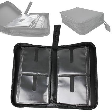 Amazon.com: 80 Disc CD DVD Storage Wallet Bag Holder for ...