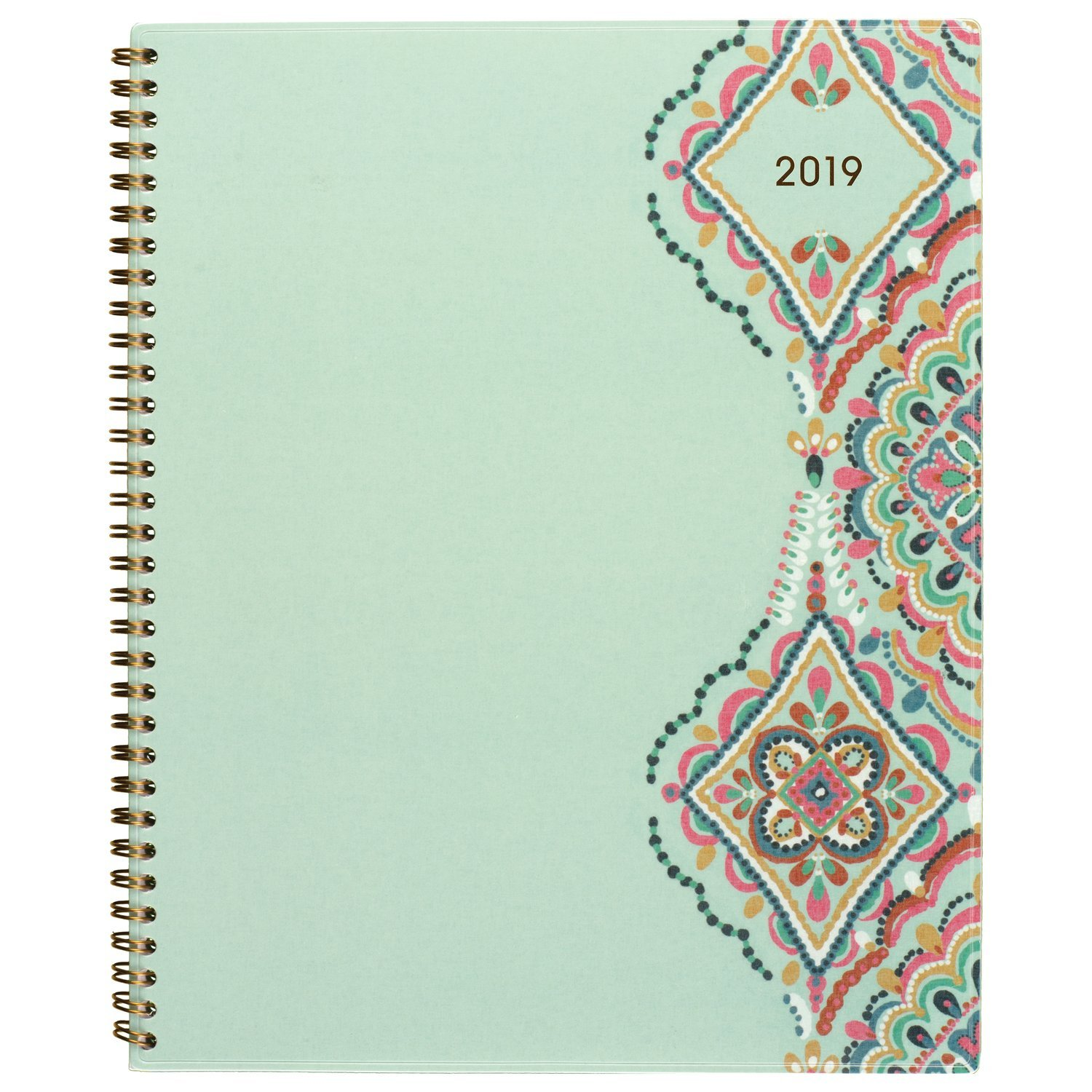 AT-A-GLANCE Weekly & Monthly Planner, 8-1/2'' x 11'', Large, Marrakesh, Light Green (182-905)