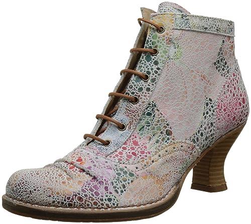 Neosens Women's S865 Fantasy Rococo Ankle Boots, Multicolour (Floral )