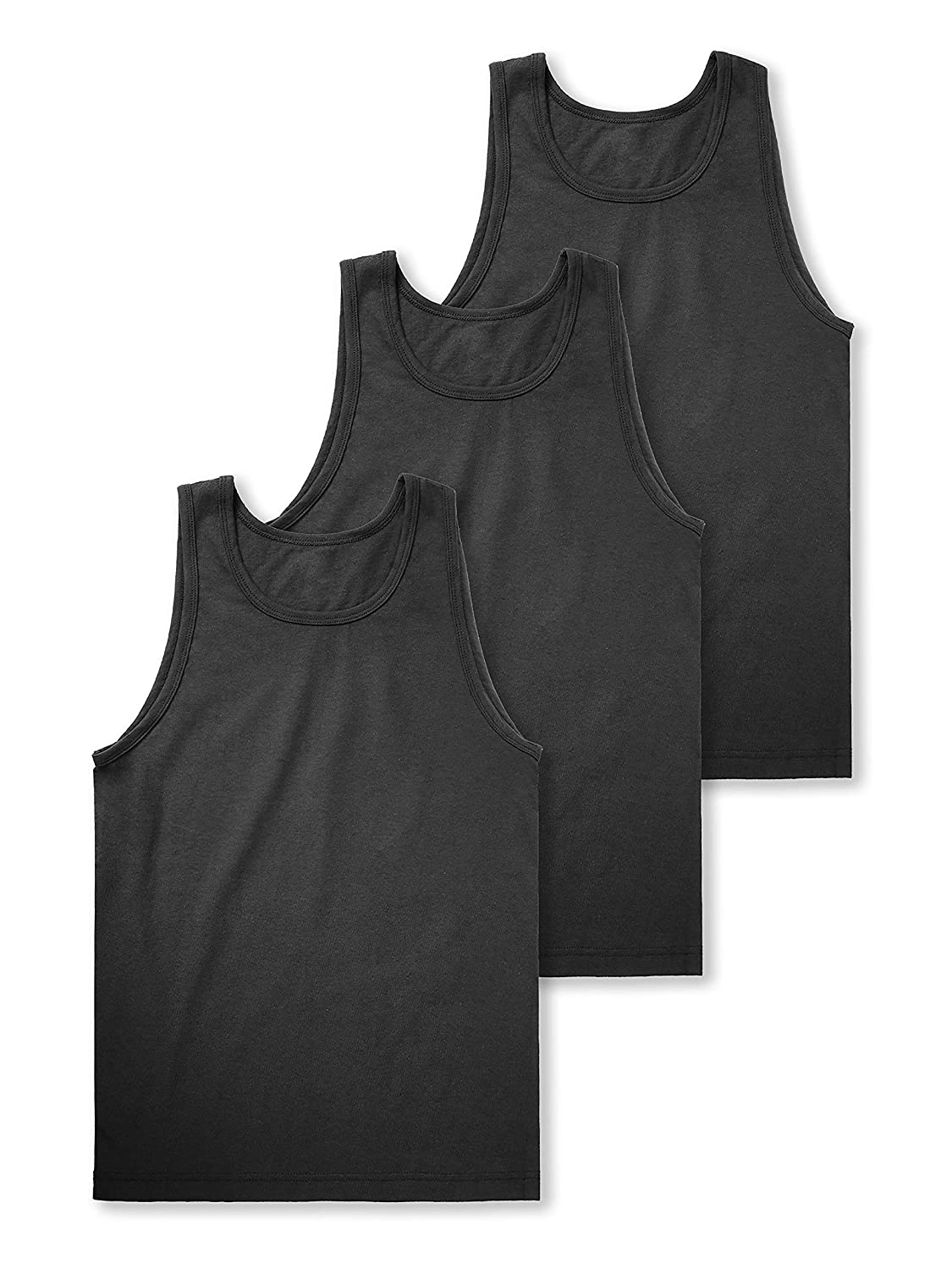 Hat and Beyond Mens Tank Top Muscle Fit Active Exercise Sleeveless Shirt