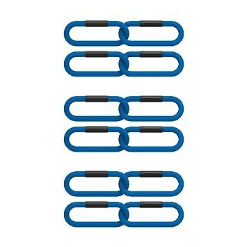 Reaxing Reax Chain 2 Kg, Pesas flexibles, Peso suave para entrenamiento funcional, Azul