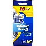 Gillette Blue II Disposable Shaving Razor, 0.11 Kilograms, 16 Pack