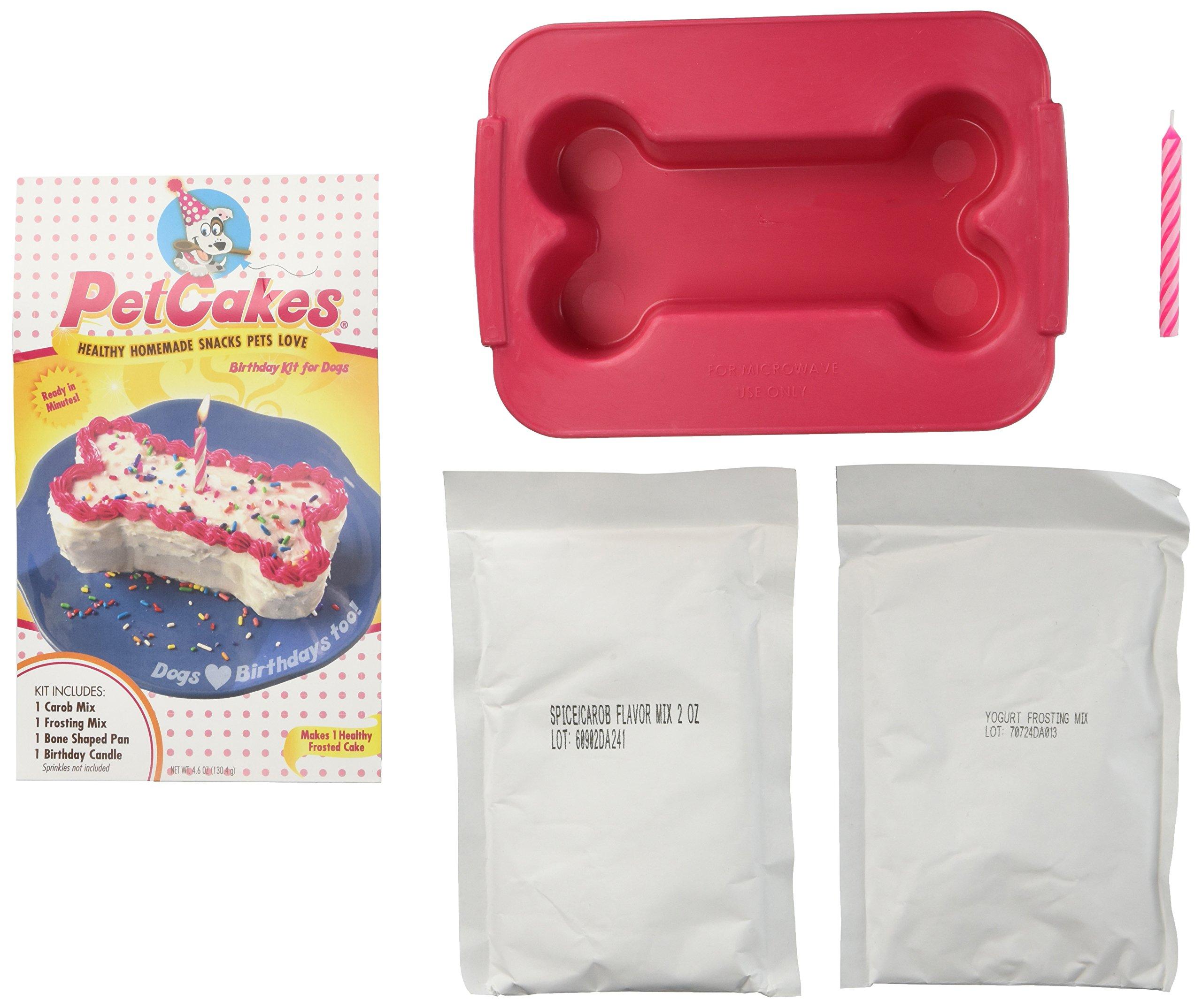 Amazon Petcakes Birthday Cake Kit For Dogs Pet Supplies