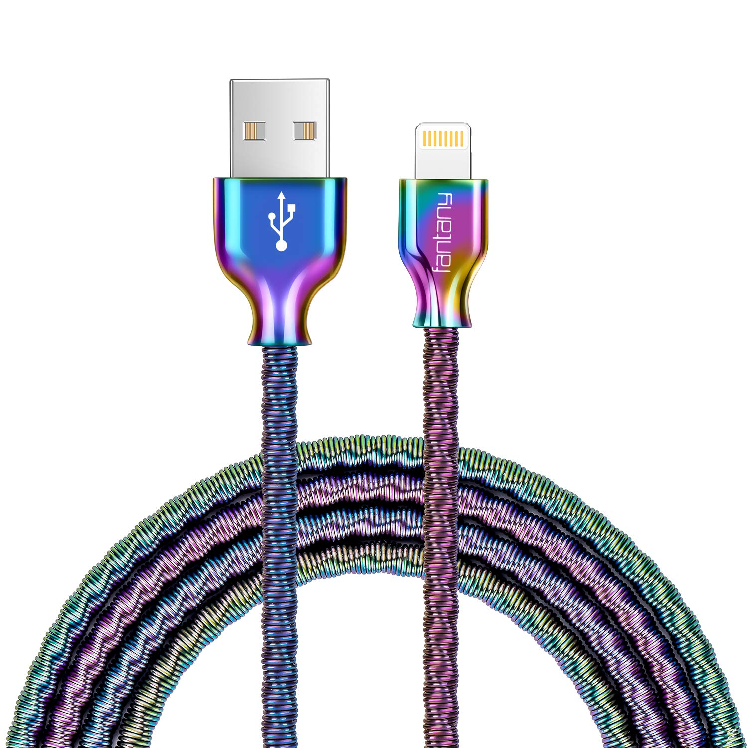 Cable Lightining,Fantany Metal USB A 1m