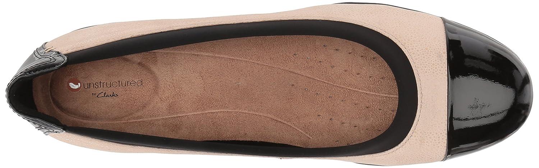 Clarks Neenah Garden Damen Ballerinas Ballerinas Ballerinas beige Nde Int NBK Blk Pat Lthr 576345
