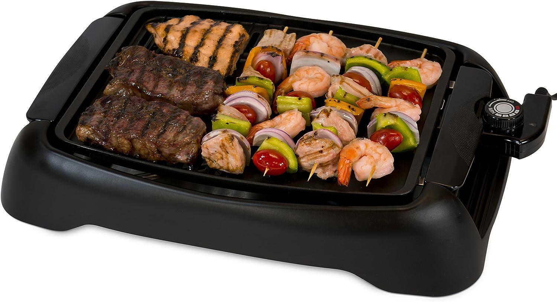 Amazon Com Smart Planet Sig 1 Indoor Smokeless Bbq Grill Black