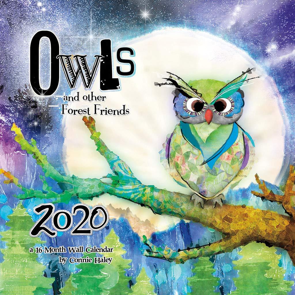 Rubys Pantry Food List 2020.Owls Connie Haley 2020 Wall Calendar Trends International