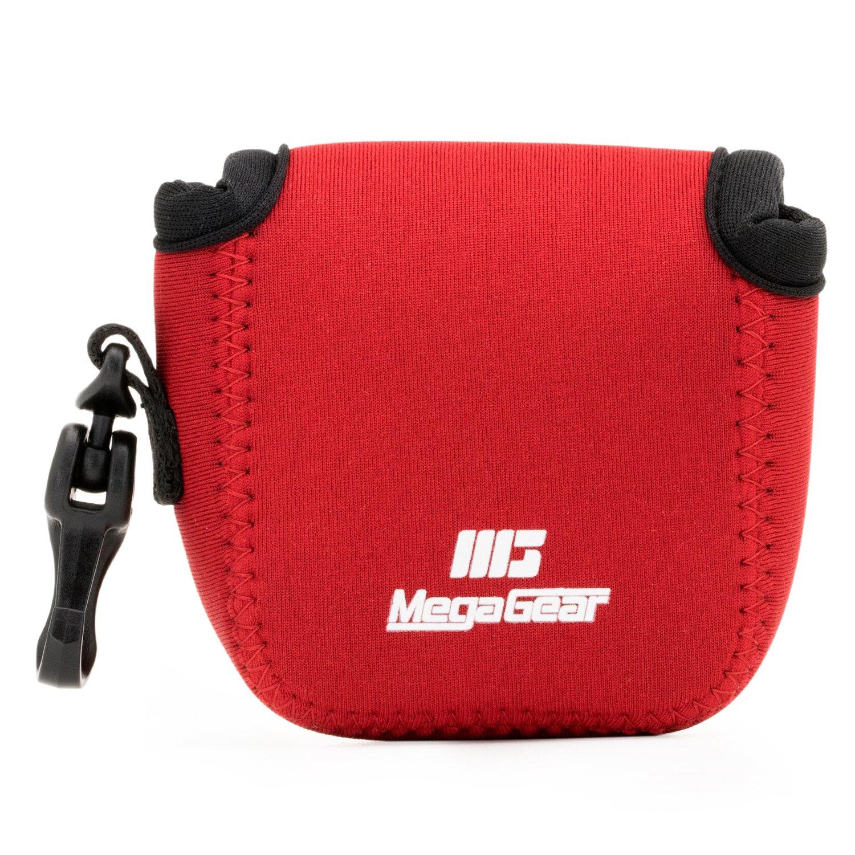 MegaGear MG1312 GoPro Hero 7, Hero 6, Hero 5, Sony DSC-RX0 Ultra Light Neoprene Camera Case, with Carabiner - Blue