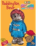 sequin art 1337 Paddington Bear Craft