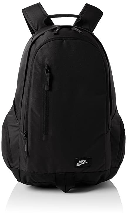 9fde286562 Nike All Access Fullfare Black Backpack  Amazon.in  Bags