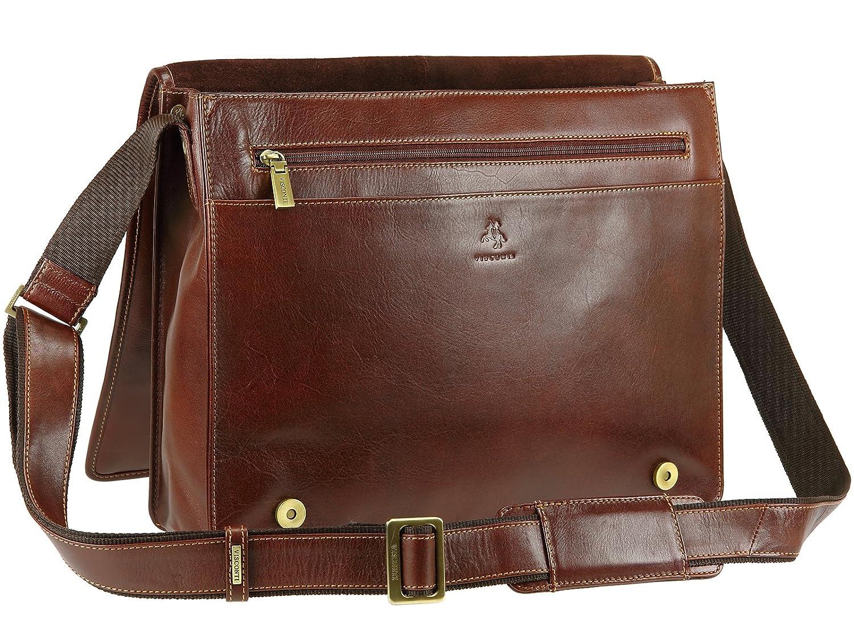 e013f43ef2b Visconti Vintage Veg Tanned Leather Messenger 14