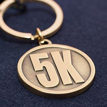 5 K corredor de regalo - Llavero - regalo único para un 5 K ...