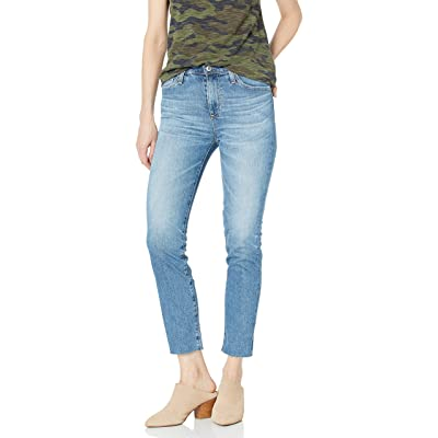 AG Adriano Goldschmied Women's Isabelle High Rise Straight Leg Jean: Clothing