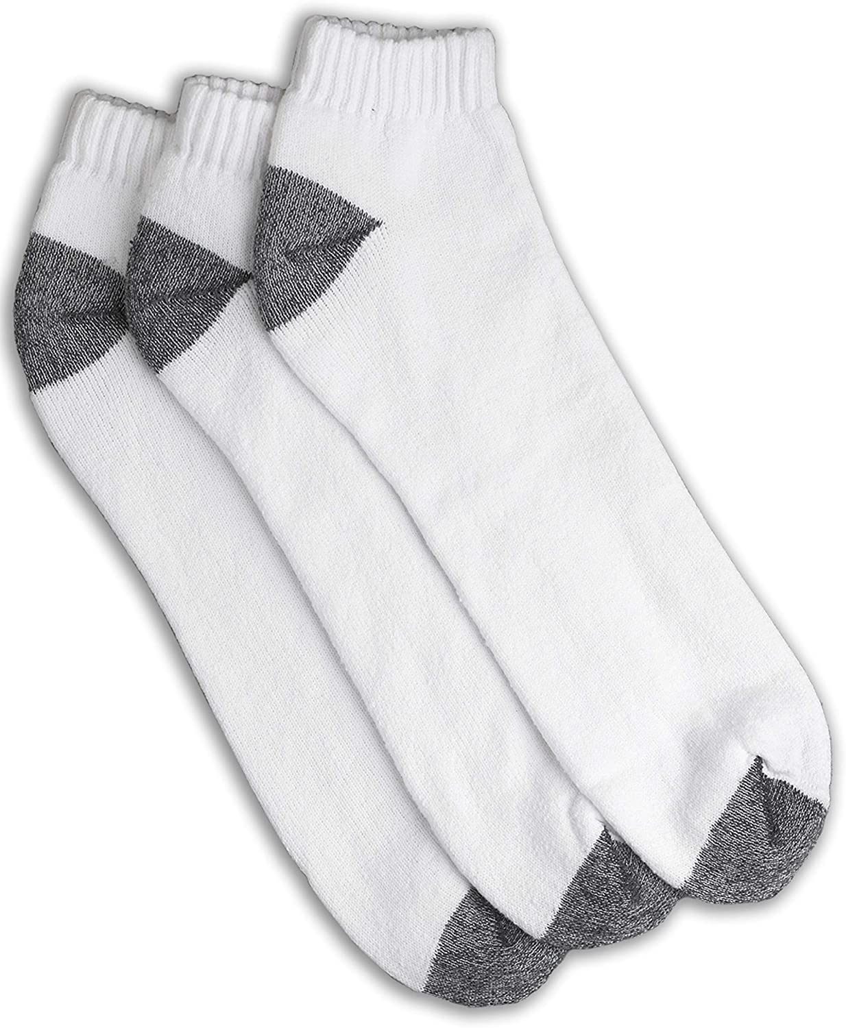 Harbor Bay by DXL Big and Tall Continuous Comfort Low Cut Socks 3 Pairs