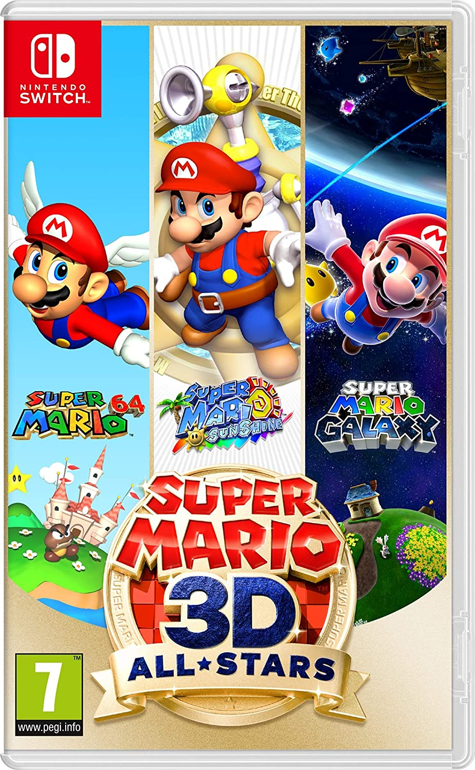Switch - Super Mario 3D All Stars - [Versión Italiana]: Amazon.es: Videojuegos