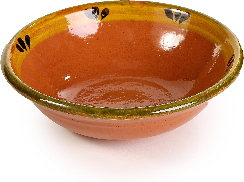Amazon.com: Mexicano arcilla – Plato hondo (Trébol Diseño ...