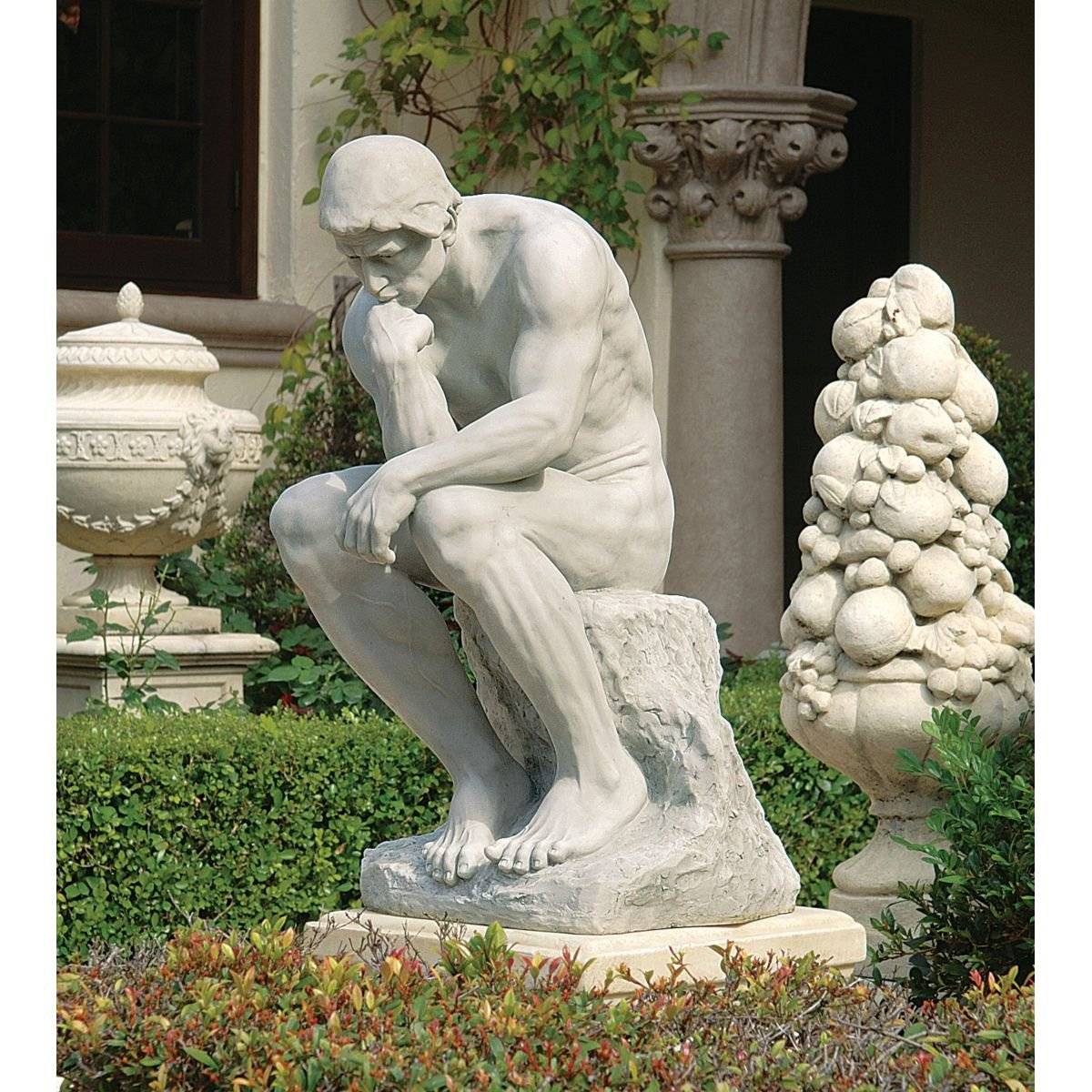 High Quality Amazon.com : Design Toscano The Thinker Garden Statue : Outdoor Statues :  Garden U0026 Outdoor