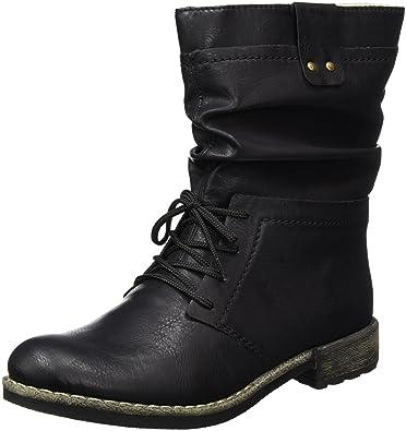 Rieker 74657-00 Damen Halbschaft Stiefel  Amazon.de  Schuhe ... e063c79ae9