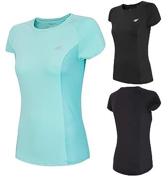 ff07b351bb9 4F Women's Short-Sleeved T-Shirt TSDF002 Quick-Drying Sports Running ...