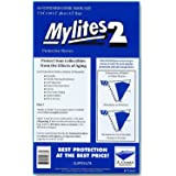 "Mylites 2 Standard Comic Book Mylar Sleeves 7-1/4"" x 10-1/2"" Plus 1-1/2"" Fold-Over Flap; Pack of 50"