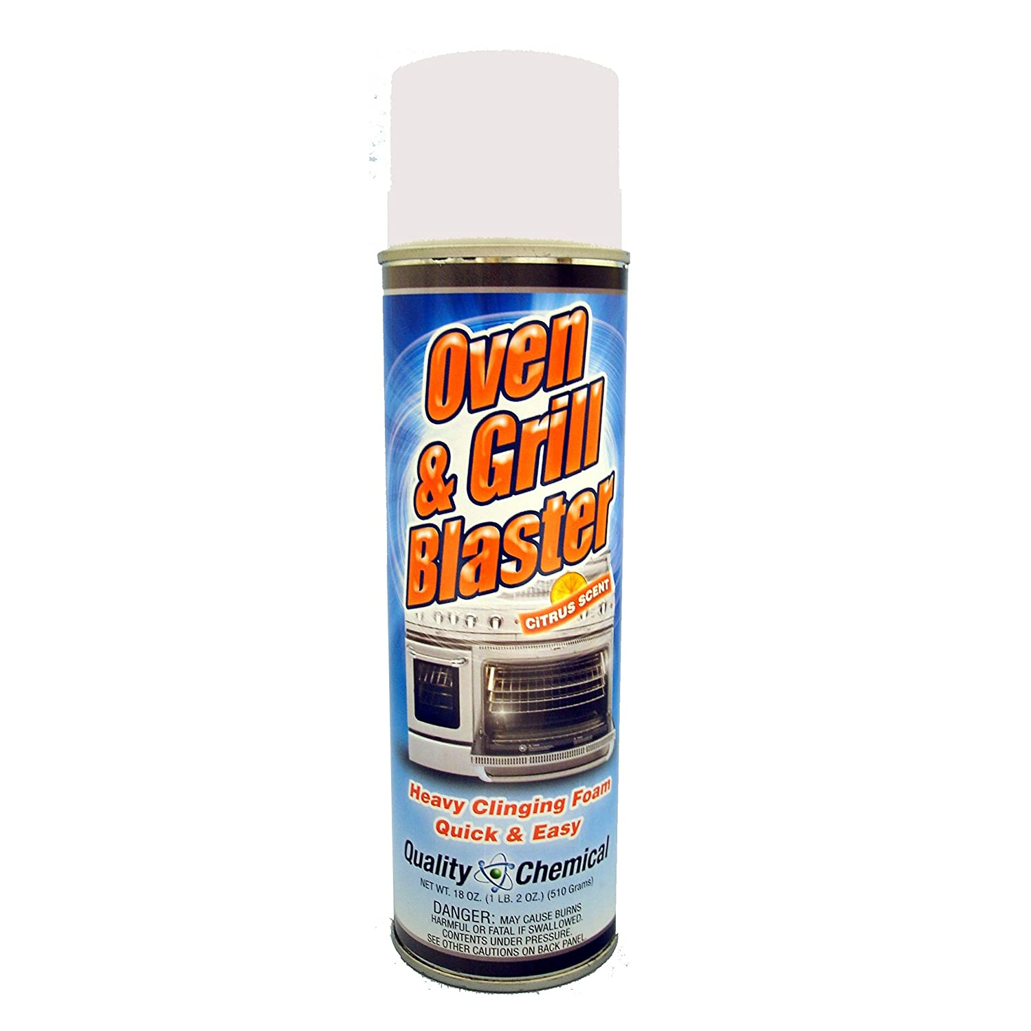 Oven and Grill Blaster Heavy-Duty Oven Cleaner, Grease and Carbon Remover - 12 cans