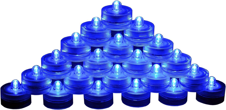 24 LED Green SUBMERSIBLE Wedding Battery Decor Light