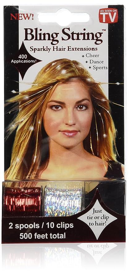 As Seen On Tv Blingstringa Bling String Sparkly Hair Extensions