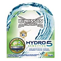 Wilkinson Sword Hydro 5 Sensitive Men's Razor Blades (Pack of 4)