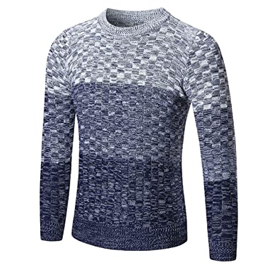 boutique officielle bas prix meilleure vente JUTOO Pull Homme Automne Hiver Pull Pull Mince Pull en ...