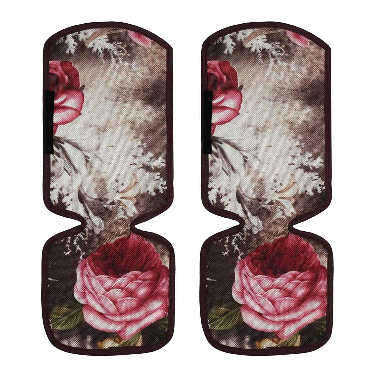 Polyester Fridge Handle Cover Set Of 2 Pieces