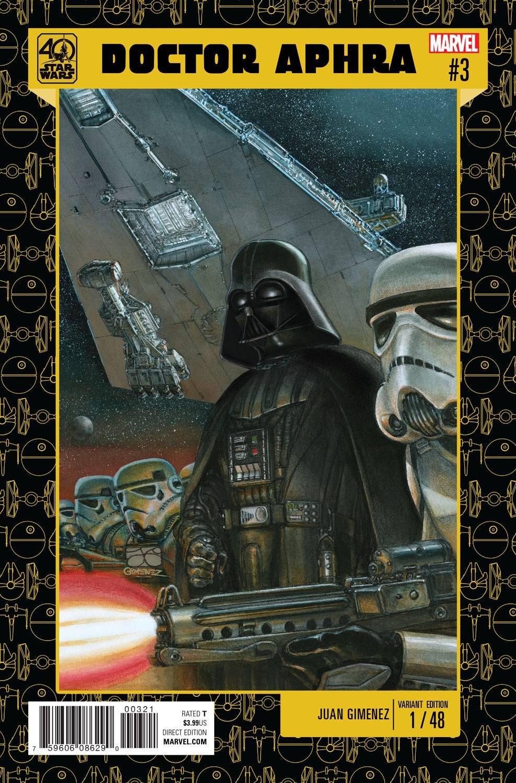 STAR WARS DOCTOR APHRA #3 GIMENEZ STAR WARS 40TH ANNIV VAR PDF