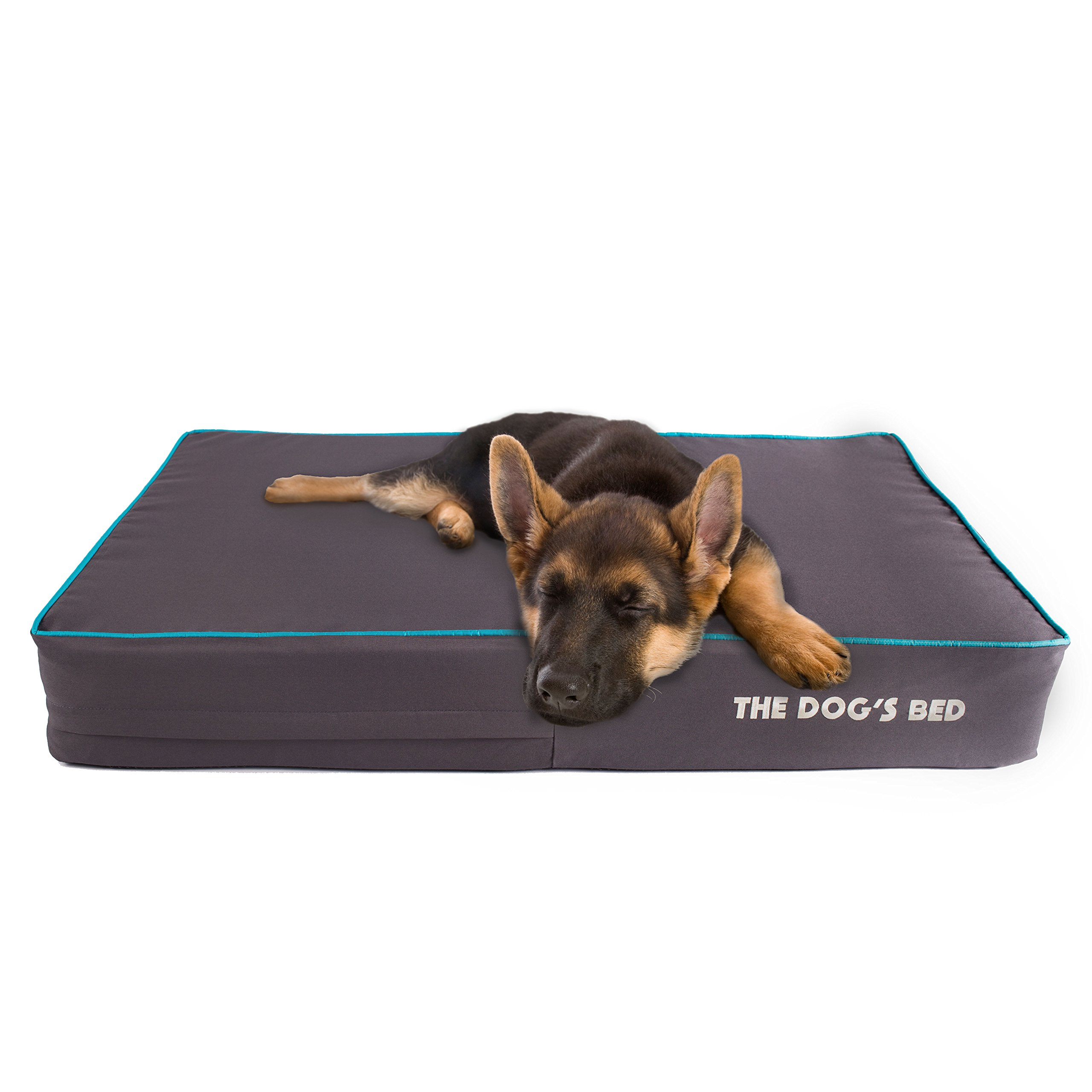 The Dog's Bed, Premium Plush Orthopedic Waterproof Memory Foam Dog Beds, 5 Sizes/7 Colors: Eases Pet Arthritis, Hip Dysplasia & Post Op Pain, Quality Therapeutic & Supportive Bed, Washable Covers