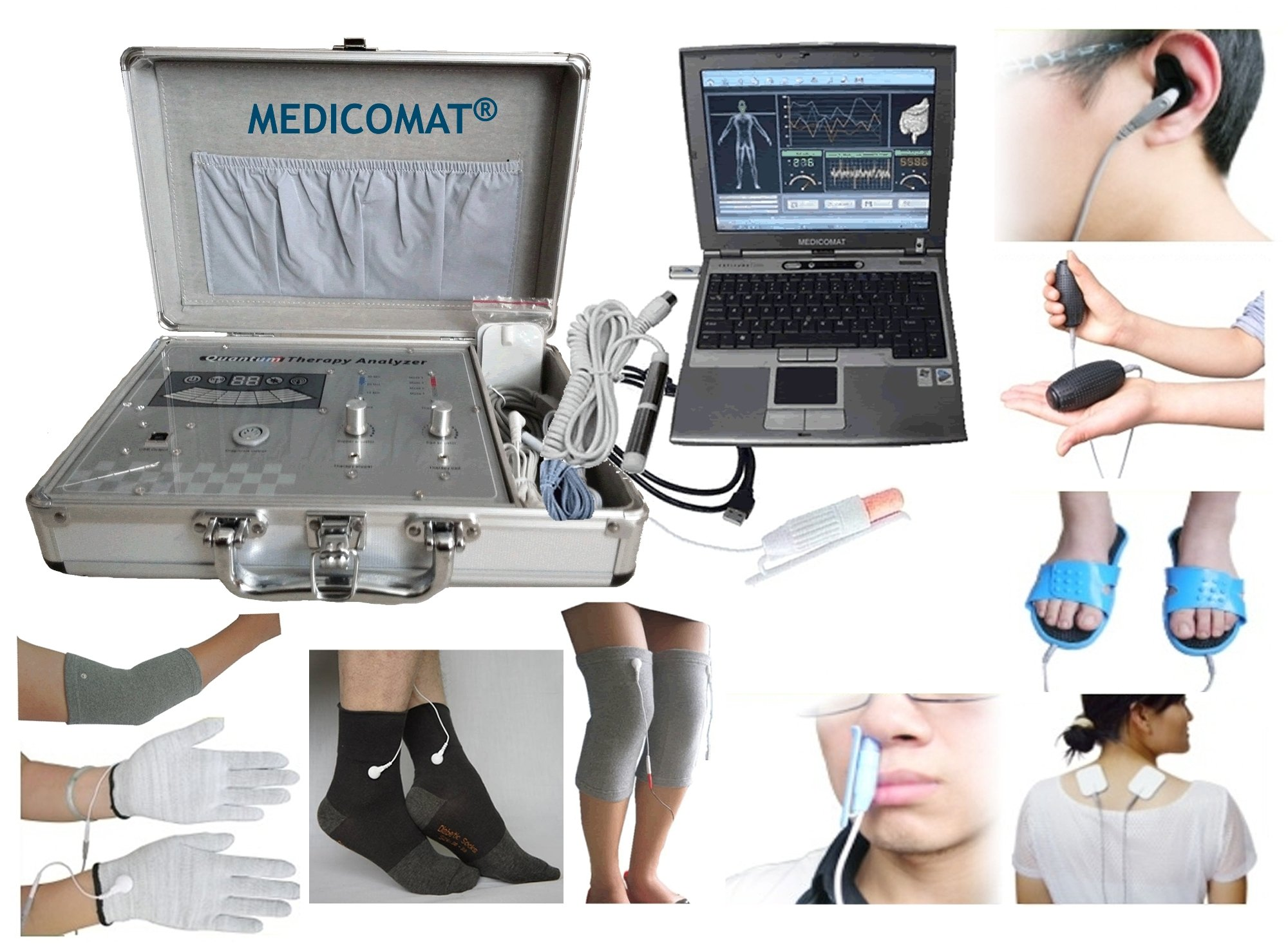 Health Test Assessment Medicomat Health Quantum Analyzer Therapy Computer System by Medicomat (Image #1)