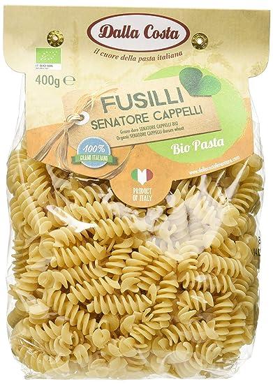 Dalla Costa Alimentare Fusilli Pasta di Semola di Grano Duro Senatore  Cappelli Biologica 71363cba1435