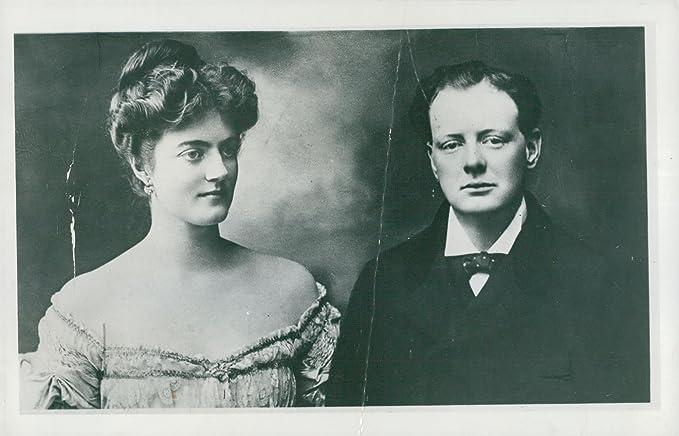 Amazon Com Vintage Photo Of Winston Churchill With His