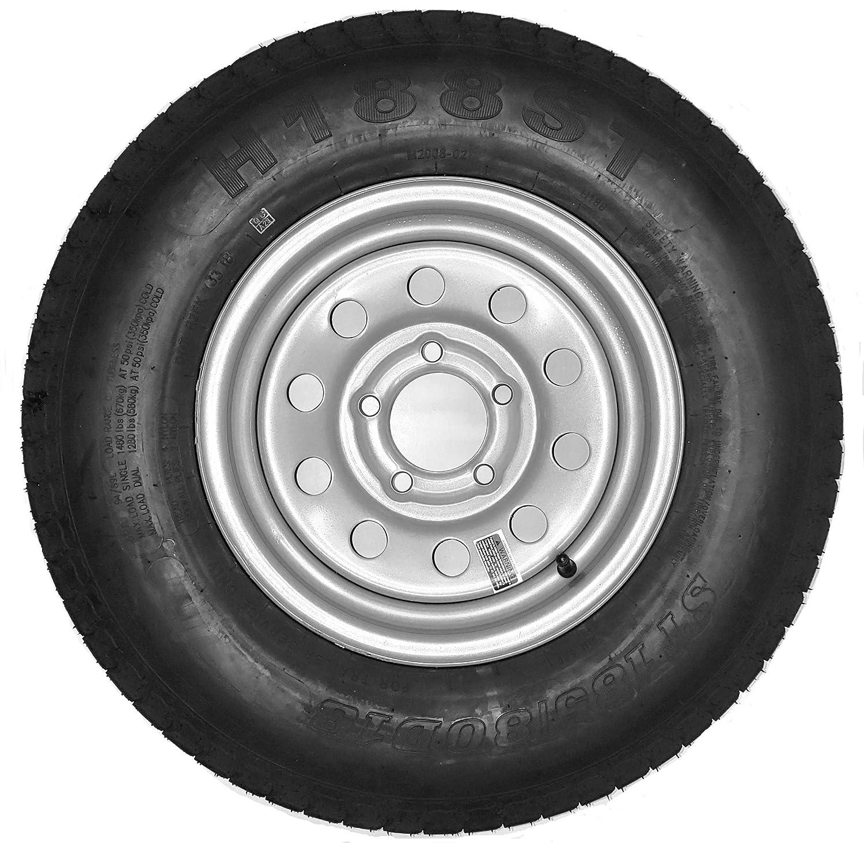 Amazon.com: Neumático para remolque + llanta ...