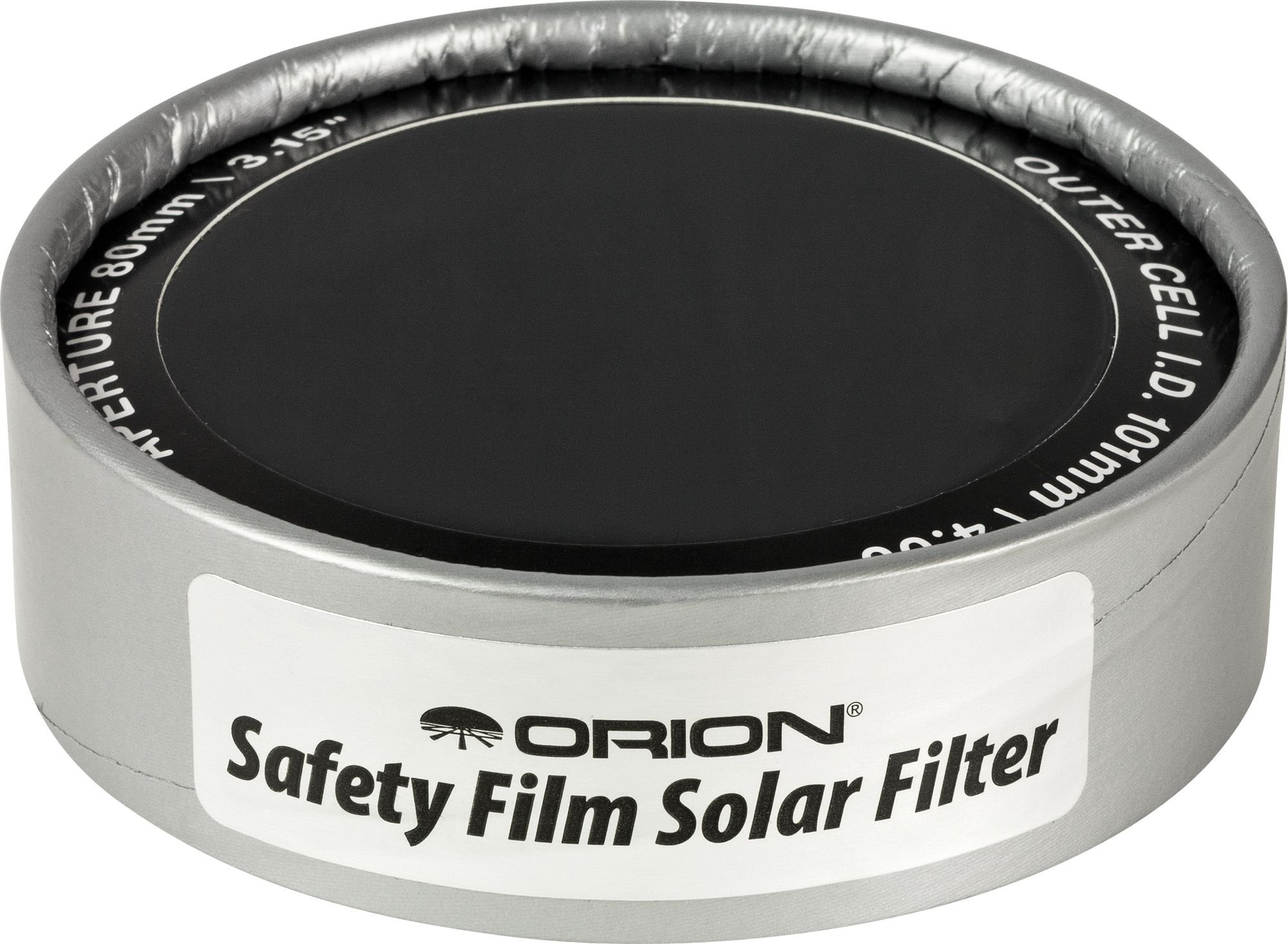 Orion 7785 4.00-Inch ID E-Series Safety Film Solar Filter