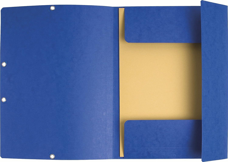 Exacompta 55449E Cartella con Elastico 50 Pezzi Giallo 24x32 cm