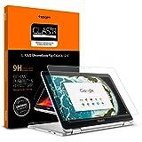 Spigen Tempered Glass Screen Protector Designed for ONLY Asus Chromebook Flip C302CA (12.5 inch) [9H Hardness]