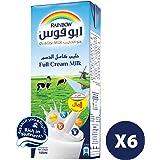 Rainbow UHT Milk Full Cream, 6 x 185 ml