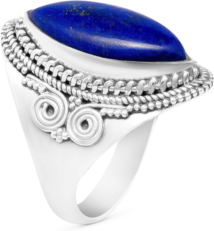 Silver Overlay Handmade Ring Boho Chic Ring Gemstone Ring 7.5 USA Handmade Ring Statement Ring Labradorite Ring Women Ring Size