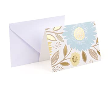 Amazon hallmark notecards flowers and dots 50 cards and amazon hallmark notecards flowers and dots 50 cards and envelopes office products mightylinksfo