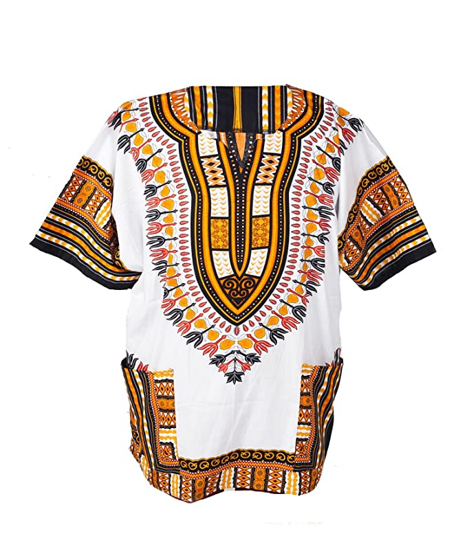 Vintage Shirts – Mens – Retro Shirts Lofbaz Traditional African Unisex Dashiki Shirt color Tribal Festival Hippie £15.95 AT vintagedancer.com