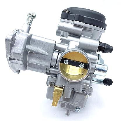 Amazon com: Carburetor BSR33 fits for Mikuni Yamaha Rhino 450 with