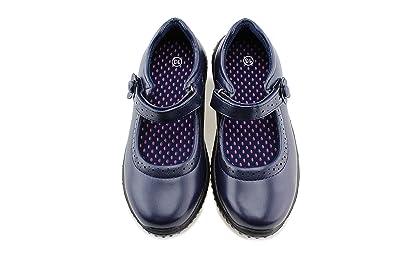 957b29cc0c99 Amazon.com  Jabasic Girl s Mary Jane School Uniform Shoes  Shoes