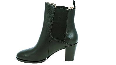 93a15e11dc6d26 kleine aber feine Stiefel Größe 35 Für Damen - Schwarzer Kurzschaft Stiefel  In Chelsea Boots Optik