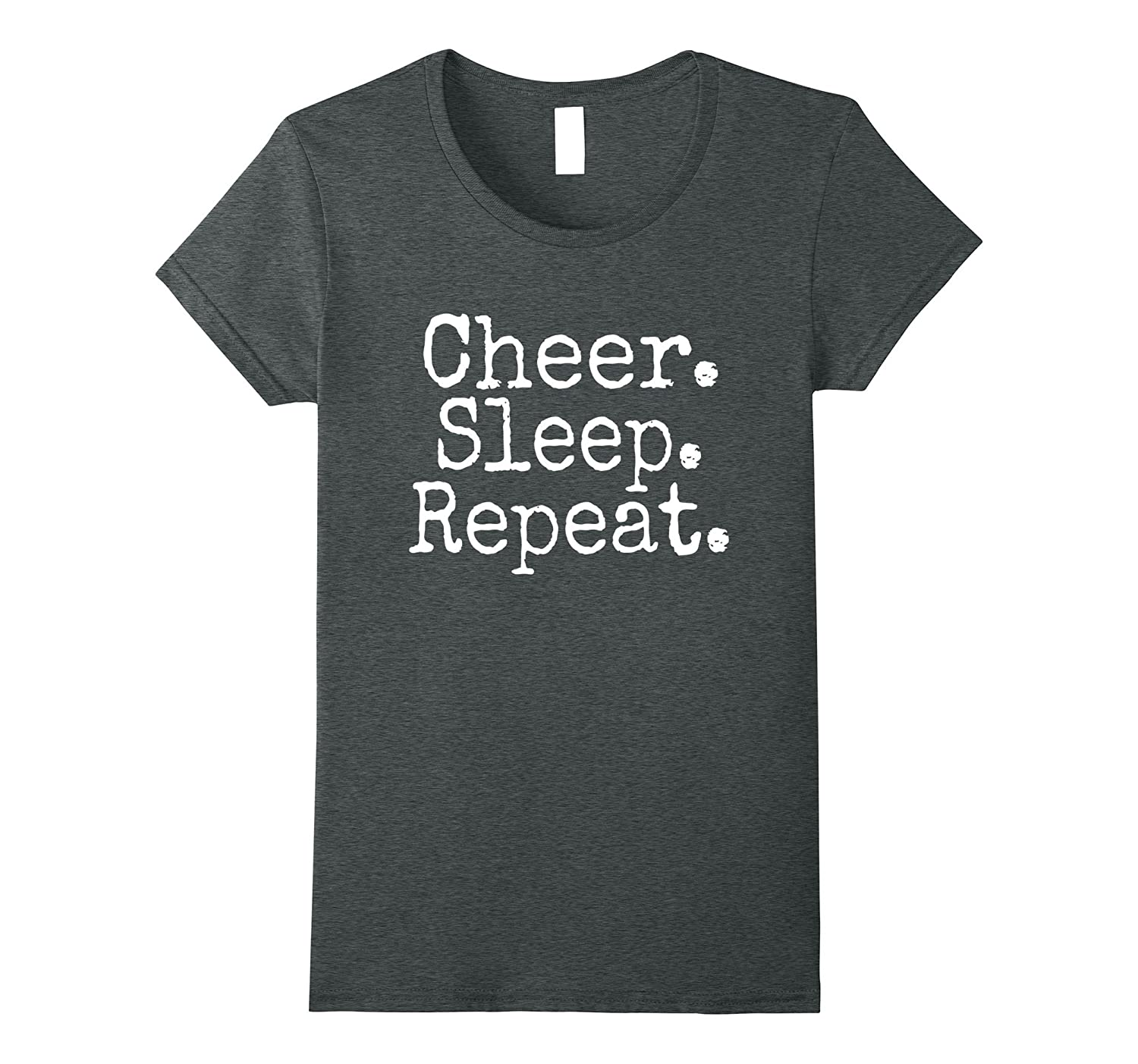 Cheer Sleep Repeat T-Shirt (Cheerleader)